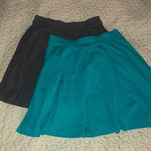 2/$11 Forever 21 Skater Skirts